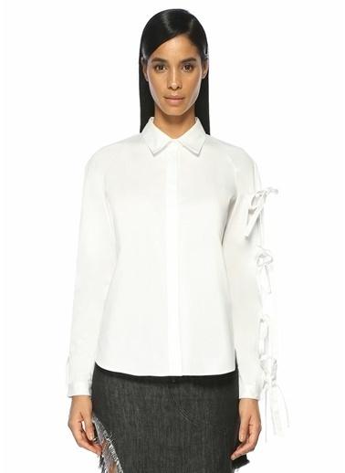Sandy Liang Gömlek Beyaz
